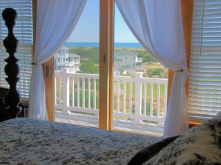 Corolla house photo - Watch the sun rise over the ocean from your bed in the Master!