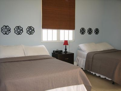 Rincon villa rental - Bedroom # 3 With Two Full Size Beds