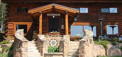 Ranch House sleeps 11 guests in 5 bedrooms and has full kitchen and dining room.