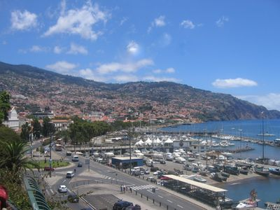 Funchal apartment rental - The Bay of Funchal