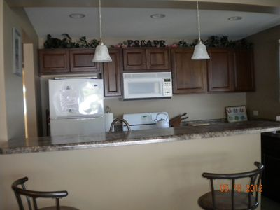 Monticello - Indiana Beach cottage rental - Kitchen