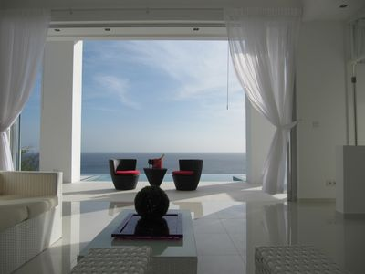 Curacao villa rental - Amazing Ocean Views On the Cover of Modern Home Design Magazine!