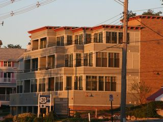 Grand Haven condo photo - The sun setting on Brezza di Lago suite #10