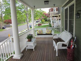 Newport house photo - Front Porch