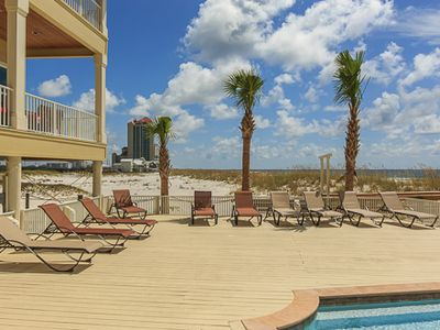 brand new 7 bedroom beachfront pool sleeps vrbo