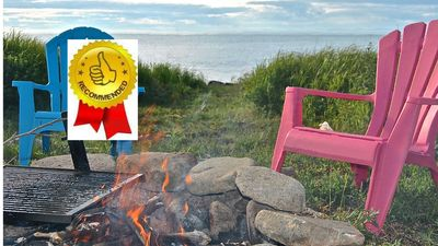 ⚓⚓Perfect Glamping Retreat on the Bay of Fundy Shore. OCEANFRONT. 🌅⚓⚓