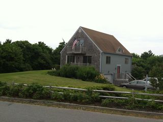 Sagamore Beach house photo - This picture is taken from your private beach path. Lots of privacy!