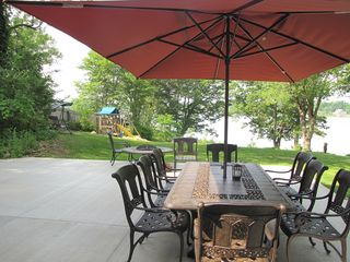 Cassopolis house photo - Watch the kids play while enjoying outdoor living.