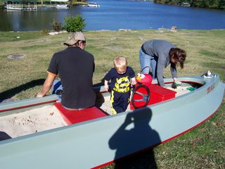 Lebanon cabin photo - The sandboat goes over big with the kids and parents