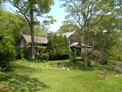 West Tisbury house rental - Surrounded by woodlands