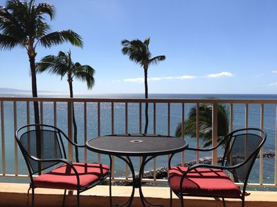 The unobstructed view from the Lanai