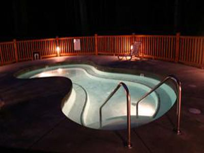 Our Lesuire Pool - Over Sized Hot Tub