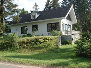 Sainte-Adèle cottage photo - Beautiful Private Inground Heated Pool