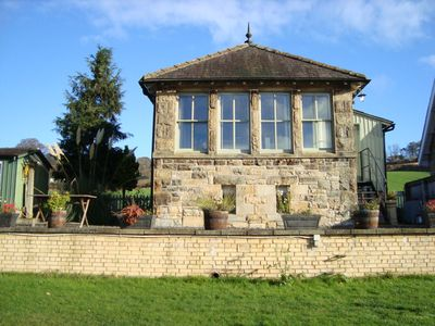 Luxury converted Signal Box, in rural Northumberland close to local amenities
