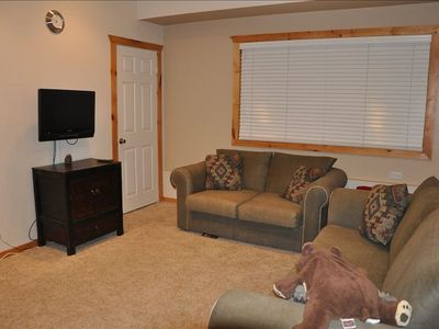 Big Bear City cabin rental - Video games anyone? Play all you want and crash on our second queen sleeper.