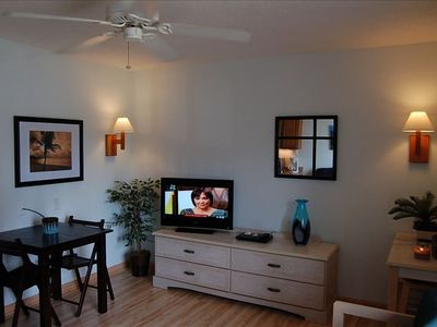 Tastefully decorated with new  Flat screen HDTV and DVD player