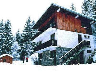 Apartment in this semi-detached chalet in Courchevel