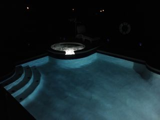 Sandy Ridge house photo - A late night dip