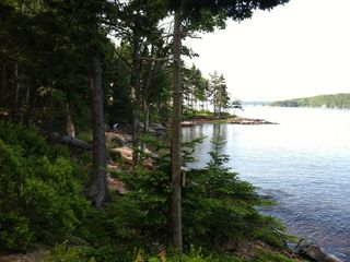 Gouldsboro cabin photo - View toward Winter Harbor on a beautiful summer day.