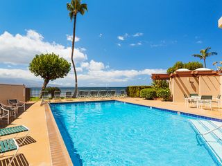Maalaea condo photo - Lounge by the pool or do some laps while taking in the ocean breeze.