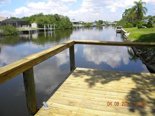 Port Charlotte house photo - Dock & Canal