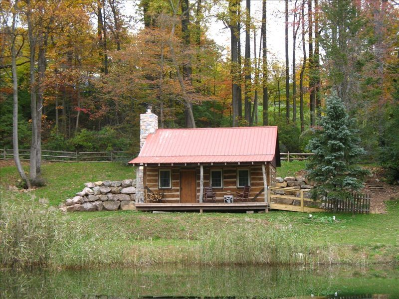 The Back Woods Cabin: 1800's Restored Log Cabin in Woods ...