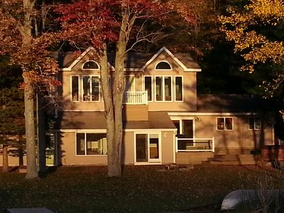 Our Family Lake House, on Beautiful Lake Ann in October