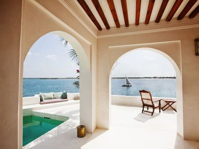 Forodhani House, Sea Views from Main Lounge, Lamu