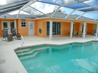 Cape Coral house photo - You may not ever want to leave the pool
