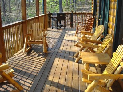 Spacious Deck to Take in the Views, Relax, and Converse
