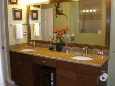 Master bathroom was recently completely remodeled
