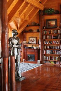Otisfield cabin rental - Library