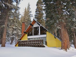 Ski In Ski Out Slope Side Cabin Chalet Homeaway Mammoth Lakes