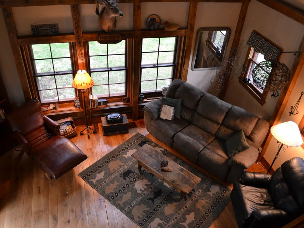 The Living Room Vaulted Ceilings