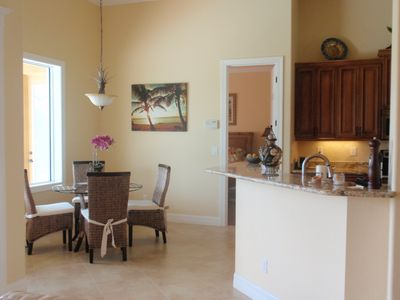 Cape Coral villa rental - breakfast area