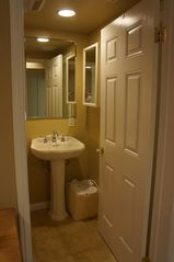 Balboa Peninsula condo photo - Bathroom 1- Two entrances