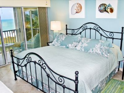 Sanibel Island condo rental - A Dream BedroomView...the hypnotic sounds of the waves will drift you to sleep..