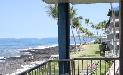 View from lanai to the north.