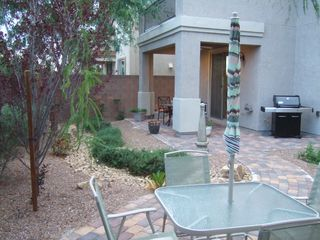 Las Vegas house photo - Enjoy Relaxing in the Large Paver Patio Area!