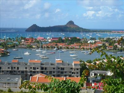 Rodney Bay townhome rental - Your neighbourhood - Marina, Reduit Beach, shops, restaurants & entertainment