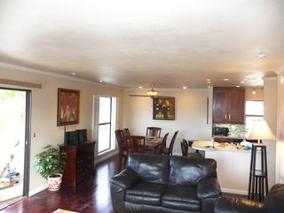 San Clemente condo photo - Open floor plan with oversized LR-DR and Kitchen