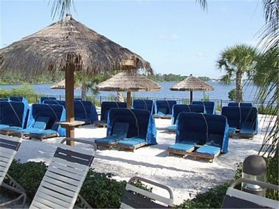Bahama Bay condo rental - lakes you can fish on