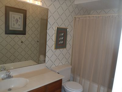 Frangista Beach townhome rental - Guest Bathroom