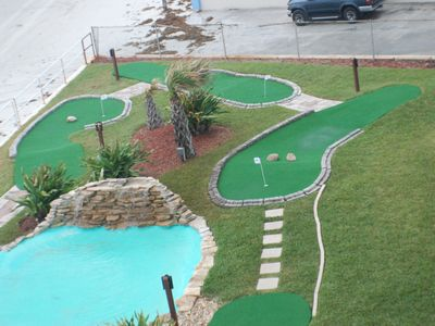 Hawaiian Inn Resort Condo Rental By Owner Mini Golf