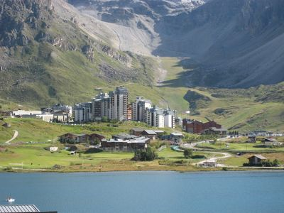 Tignes Val Claret apartment rental - Val Claret in Summer