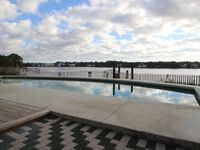 Lake Front, Private Pool, Short Walk to Beach, and Recent Remodel.