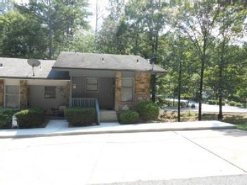 Hot Springs Village townhome rental - Front of Townhouse