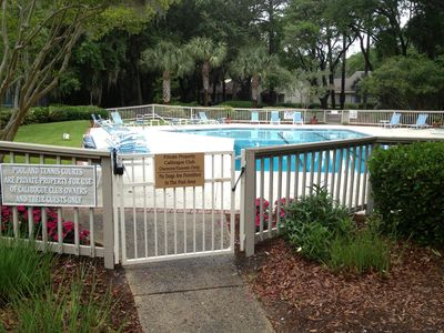 Our private community pool - located a quick 3 min walk from the house