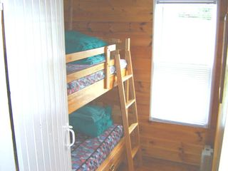 Mahone Bay property rental photo - Bedroom #3 with bunk beds