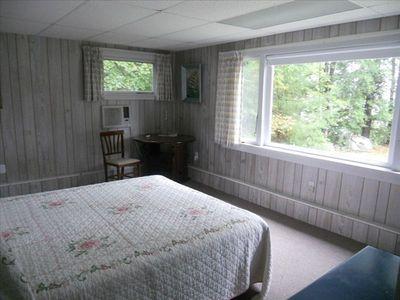 Guest cottage bedroom.
